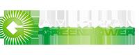 American GreenPpwer Logo Black Transparent